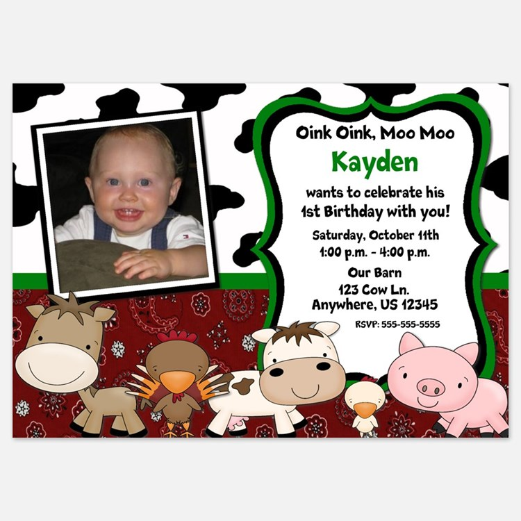 Invitations for 6 Year Old Birthday Party – Two Year Old Birthday Party Invitations