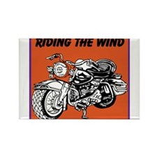 OYOOS Motorcycle design Rectangle Magnet