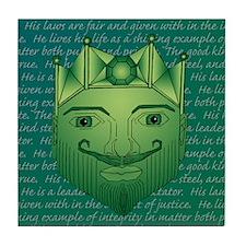 The King Tile Coaster