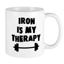 Iron is my therapy Mug