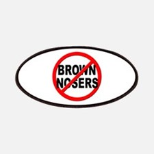 Anti / No Brown Nosers Patches