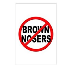 Anti / No Brown Nosers Postcards (Package of 8)