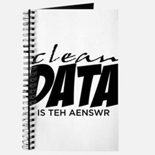 Clean Data is the Answer Journal