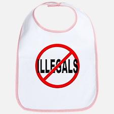 Anti / No Illegals Bib
