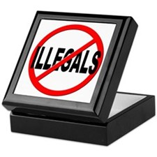 Anti / No Illegals Keepsake Box