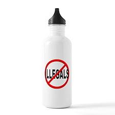 Anti / No Illegals Water Bottle