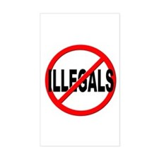 Anti / No Illegals Decal