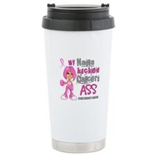 Loved One Kicked Breast Cancer's Ass 42 Travel Mug