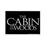 Cabin in the Woods Rectangle Magnet