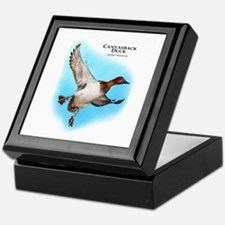 Canvasback Duck Keepsake Box