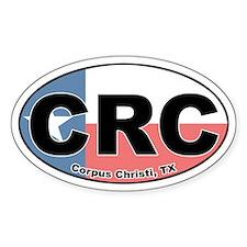 CRC (Corpus Christi) Oval Decal