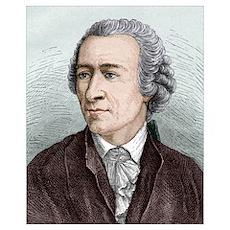 Leonhard Euler, Swiss mathematician Poster