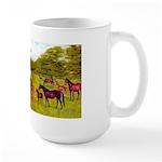 MARES & FOALS Large Mug
