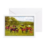 MARES & FOALS Greeting Cards (Pk of 10)