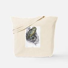 Snowy Owl Bird Tote Bag