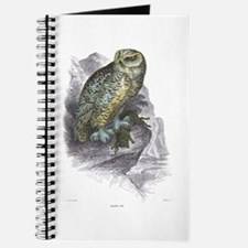 Snowy Owl Bird Journal
