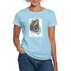 Snowy Owl Bird Women's Pink T-Shirt