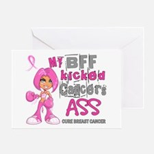 Loved One Kicked Breast Cancer's Ass 42 Greeting C