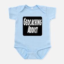 Geocaching addict Infant Bodysuit