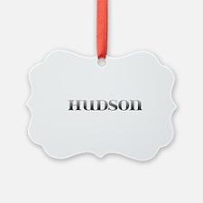 Hudson Carved Metal Ornament