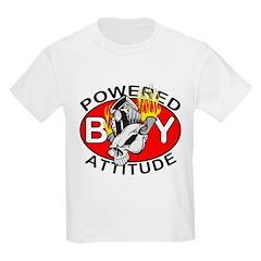 Powered By Attitude Skull Kids T-Shirt