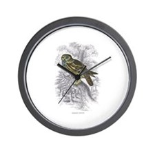 Night Owl Bird Wall Clock