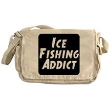 Ice Fishing Addict Messenger Bag