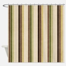 Natures Stripes Shower Curtain