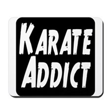 Karate Addict Mousepad