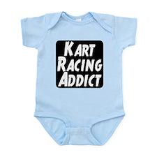 Kart Racing Addict Infant Bodysuit