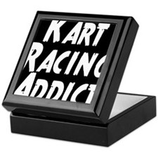 Kart Racing Addict Keepsake Box