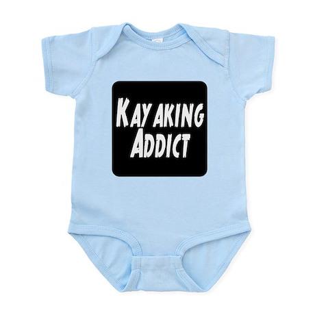 Kayaking Addict Infant Bodysuit