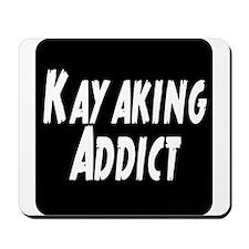 Kayaking Addict Mousepad
