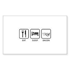 Eat Sleep Bacon Decal
