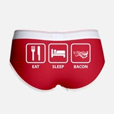Eat Sleep Bacon Women's Boy Brief
