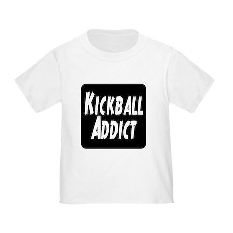 Kickball Addict Toddler T-Shirt