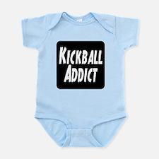 Kickball Addict Infant Bodysuit