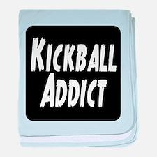 Kickball Addict baby blanket