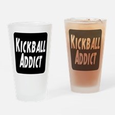 Kickball Addict Drinking Glass