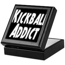 Kickball Addict Keepsake Box