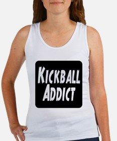 Kickball Addict Women's Tank Top