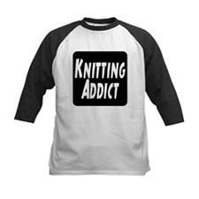 Knitting addict Tee