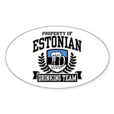 Estonian Drinking Team Decal