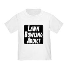 Lawn Bowling Addict T