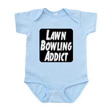 Lawn Bowling Addict Infant Bodysuit