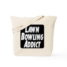 Lawn Bowling Addict Tote Bag
