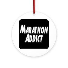Marathon Addict Ornament (Round)