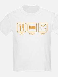 Eat Sleep Bats T-Shirt