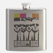 Reservoir Dogs DVD Cover Style Flask