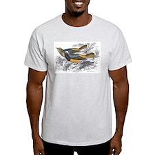 Tithy's Redstart Bird (Front) Ash Grey T-Shirt